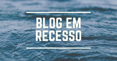 Blog em Recesso